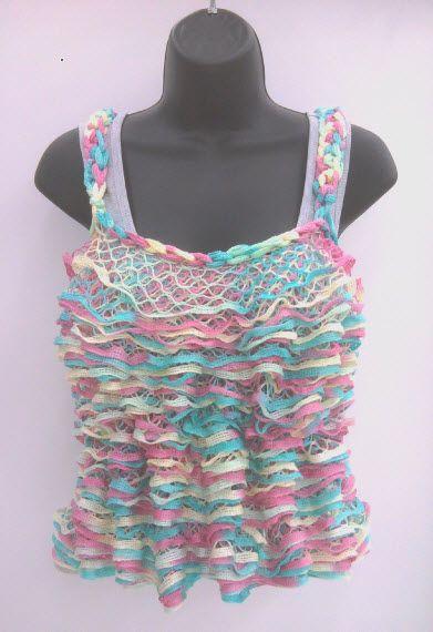 Starbella yarn tank top by sarah tison ta knit crochet art starbella yarn tank top by sarah tison dt1010fo