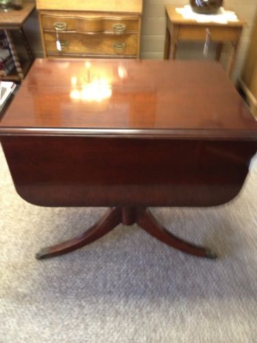 Table Marked Craddock Dependable Furniture Duncan Phyfe Sheraton Style