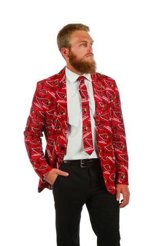 The First ever Arizona Cardinals Suit