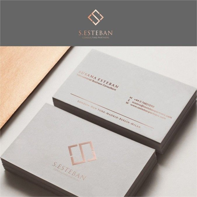 Create A Elegant Professional Original Accomplished And Luxury Logo And Luxury Logo Business Cards Creative Luxury Business Cards