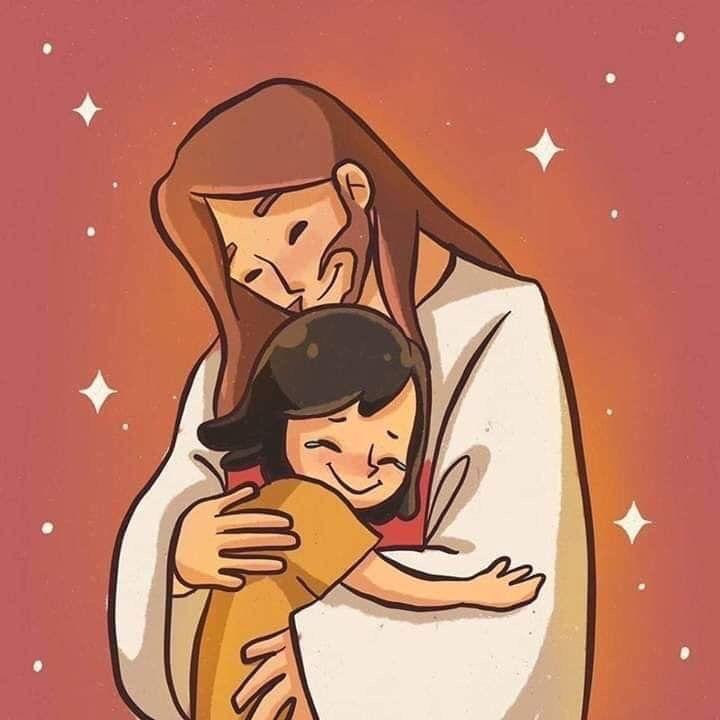 Imagenes Hermosas En 2020 Dibujos De Dios Arte Cristiano Dibujos De Jesus