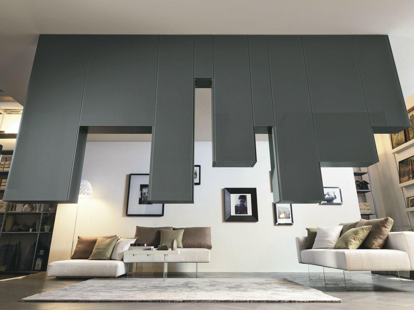 Mueble modular de pared divisorio montaje pared 30mm / LAGOLINEA ...