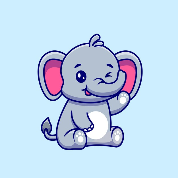 Kawaii Card Collection With Cute Animals Sticker Set Kartun