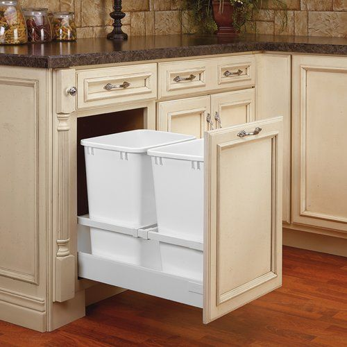 Best Rev A Shelf Twcsc Double Trash Pullout For 18 Inch Cabinet 400 x 300