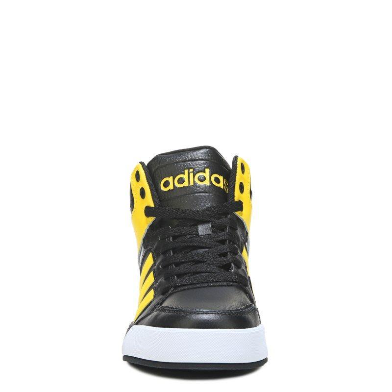 adidas neo black yellow