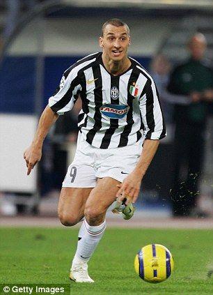 Zlatan Ibrahimovic On Juventus Calcio Calciatori Juventus