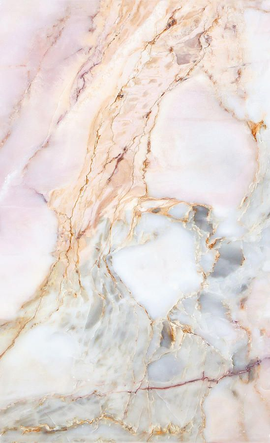 Pale Pink Marble Texture by Anastasia Petrova