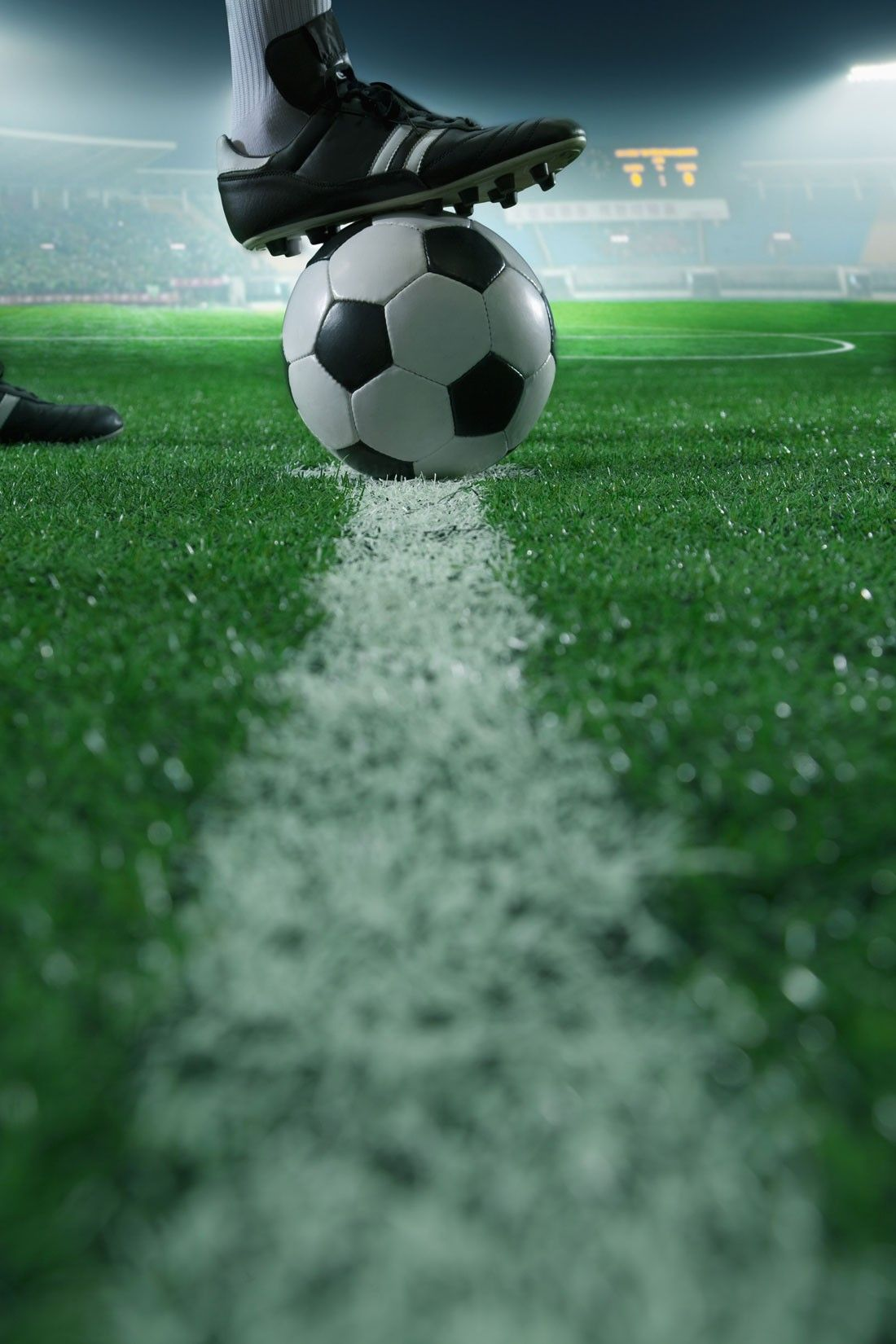 Soccer Close Up Wall Mural Sports Soccer These are the