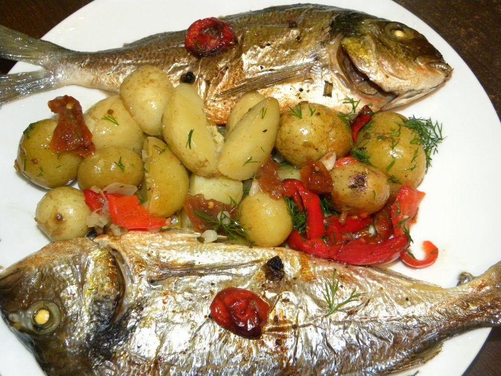 طريقة عمل سمك البربون في الفرن Cooking Recipes Cooking Recipes