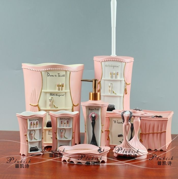 Accessories Bathroom Pink   Recherche Google