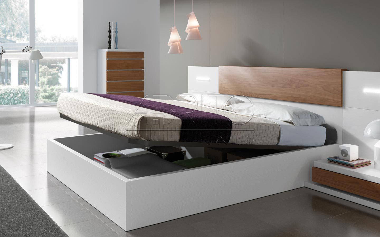 Dormitorios Beds Bed Designs With Storage Bedroom Bed Design