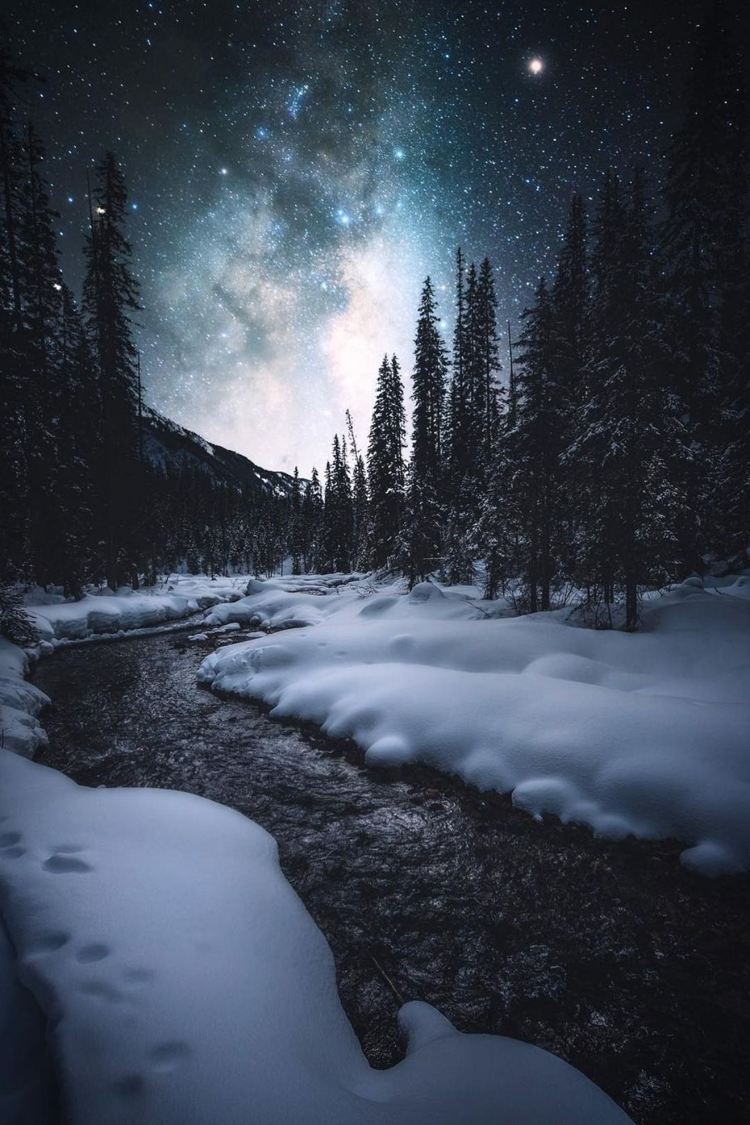 A Comprehensive Overview On Home Decoration In 2020 Winter Scenery Night Landscape Winter Landscape