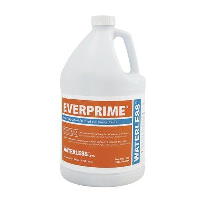 Waterless Everprime Gallon Drain Trap Liquid Smelly Drain Floor Drains Glass Vessel Sinks