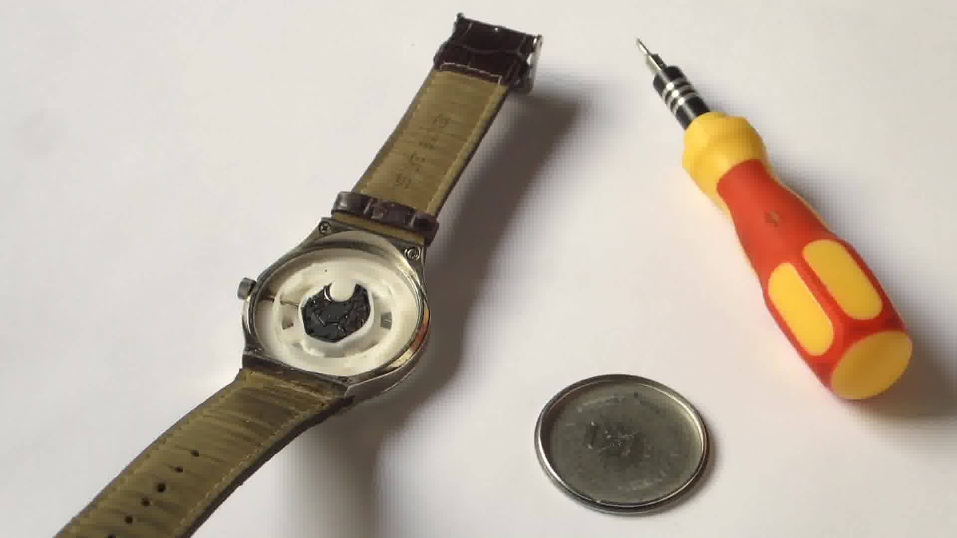 How To Pry Off A Watch Backing Without Proper Tools Watch Battery Battery Repair Watches