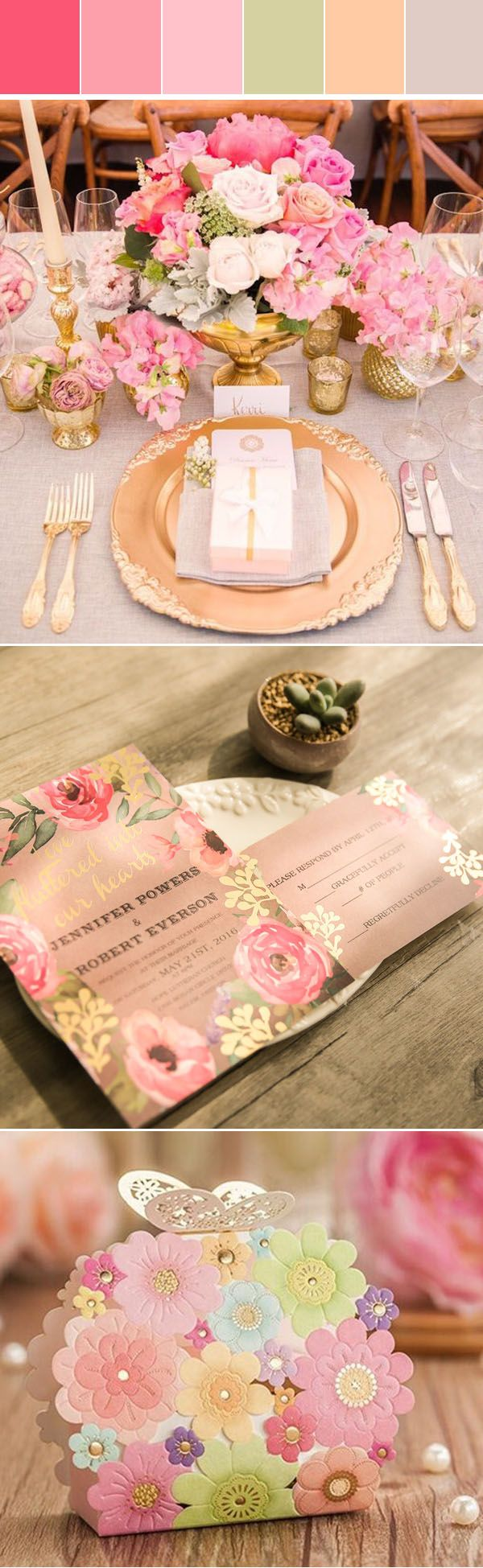 Five Pretty Summer Wedding Colors In shade of Gold with