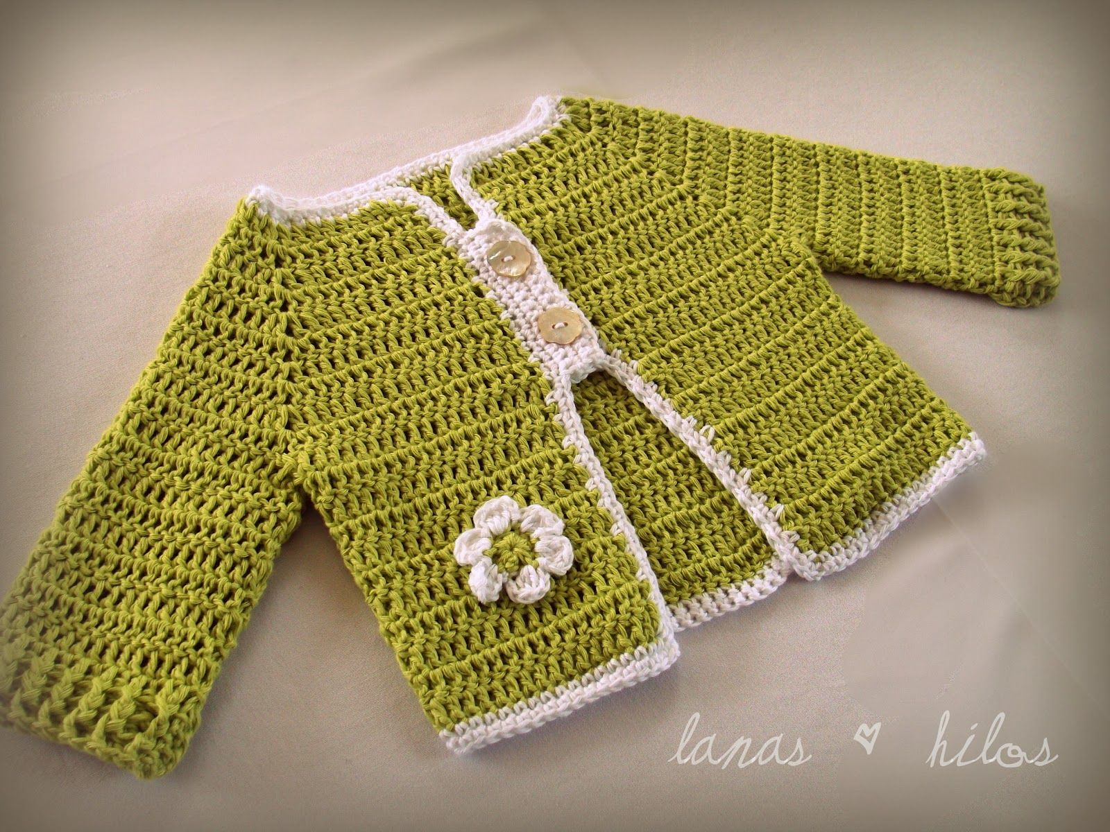 Lanas hilos 3 baby girl cardis childrenbaby crochet and knit 3 cardigans para nias how many crochet baby sweaters have i made truly i have lost count and here i made six more 3 for girls and bankloansurffo Images