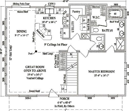 Stonehaven by wardcraft homes two story floorplan dream home wardcraft homes stonehaven two story floorplan for modular home buyers including building details malvernweather Choice Image