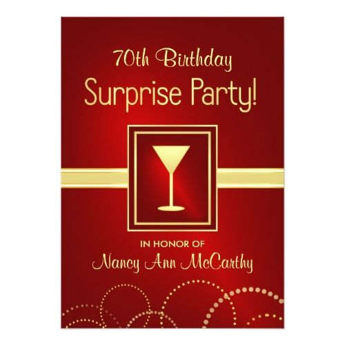 Surprise birthday invitations 70th birthday surprise party champagne surprise birthday invitations 70th birthday surprise party champagne invites stopboris Images