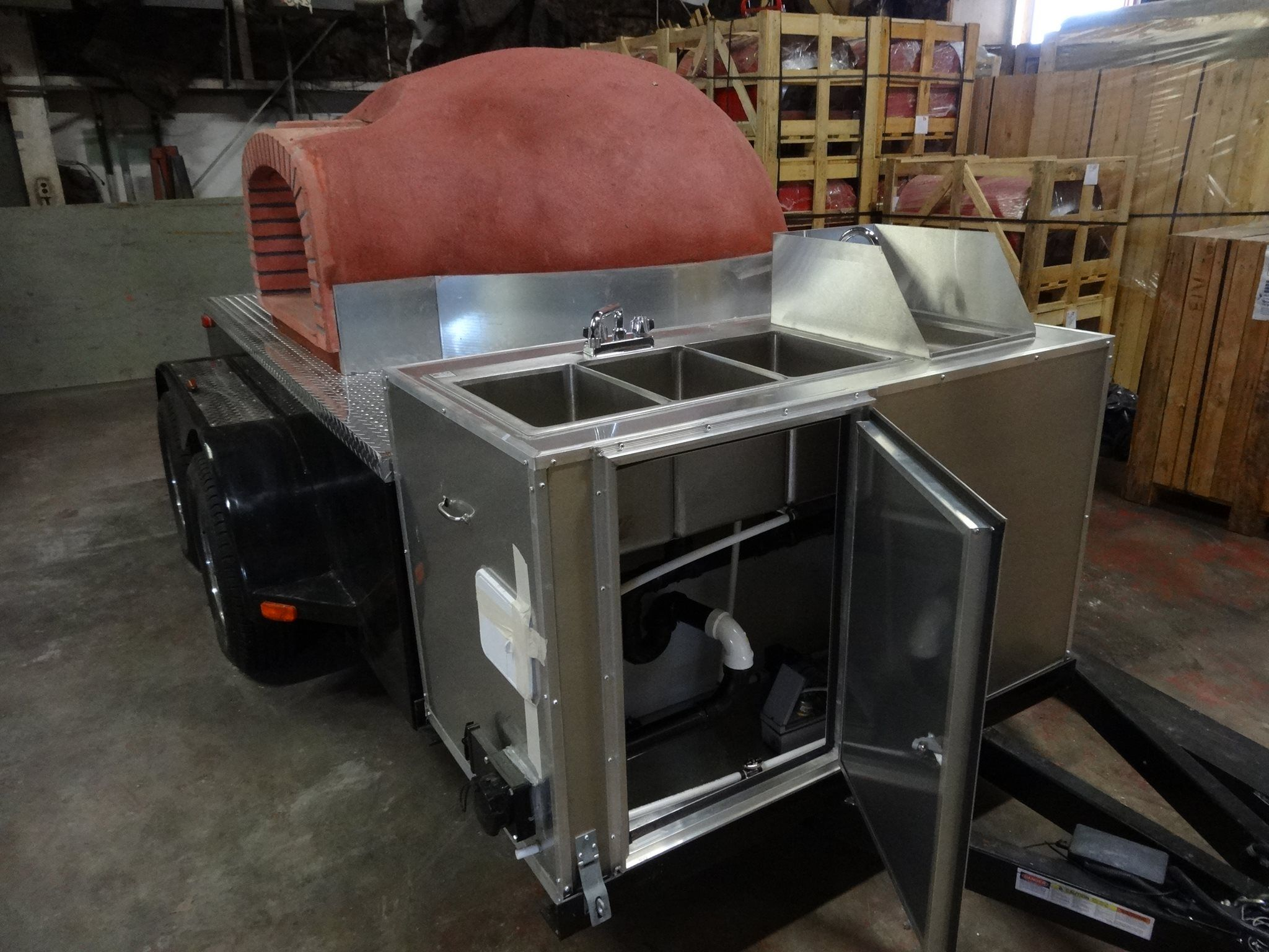 Portable wood fired pizza oven for sale - We Install Mobile Wood Fired Pizza Ovens For Pizza Trucks The Perfect Addition To Any Catering Business Or Restaurant