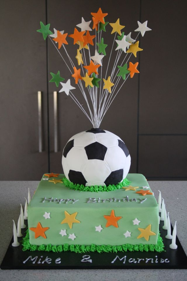 Or A Mixture Of All 3 Made From Cake Icing 430 Soccer