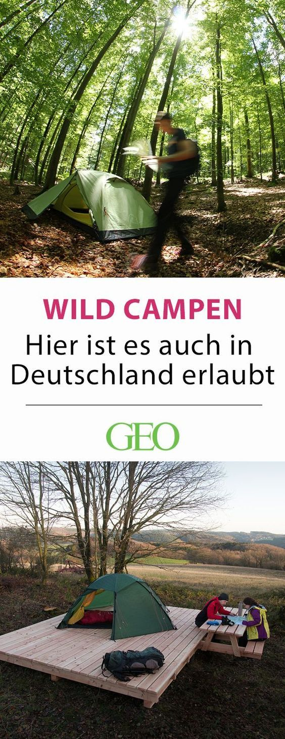 Photo of Wild camping in Germany: Off campsites, official overnight stays …