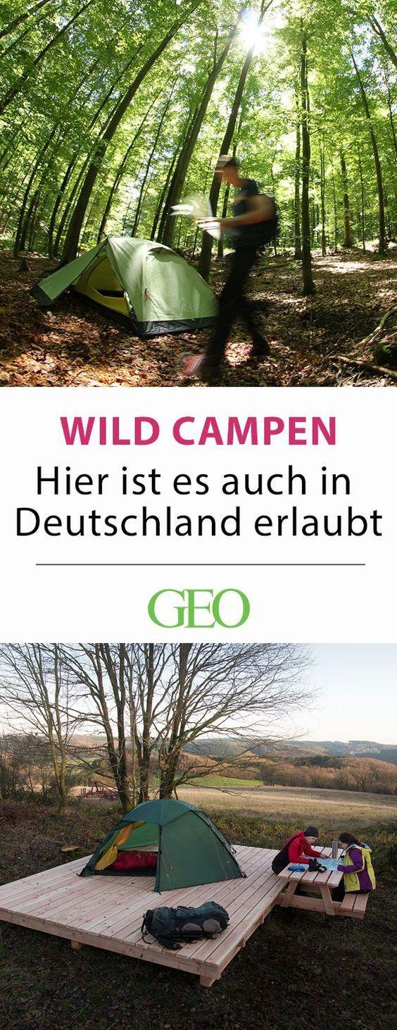 Camping in Deutschland: Da ist Wildcampen erlaubt #essentialsforcamping