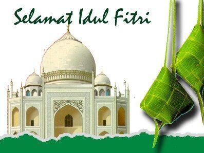 Selamat Hari Raya Idul Fitri Minal Aidin Wal Faizin Dengan