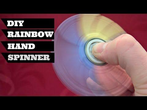 DIY Rainbow Hand Spinner Fid Spinner mod 21