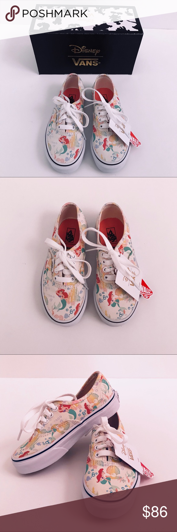 cd41bbd090e69b Disney x Vans The Little Mermaid Ariel Vans NWT