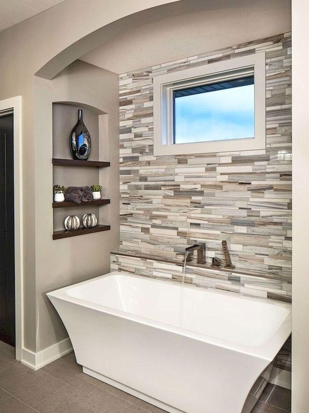 Nice 63 Relaxing Master Bathroom Bathtub Remodel Ideas. More at ...
