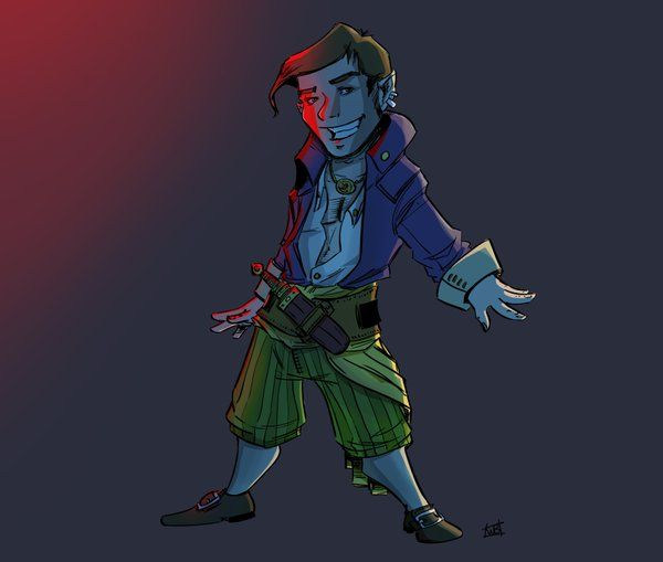 "Iorverth on Twitter: ""When you don't know what to draw today, Scanlan is always the right choice, I say. #CriticalRole @samriegel https://t.co/ndX5y5EH30"""