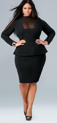 plus size black dresses 13 - #plussize #curvy #fashion | Plus Size ...