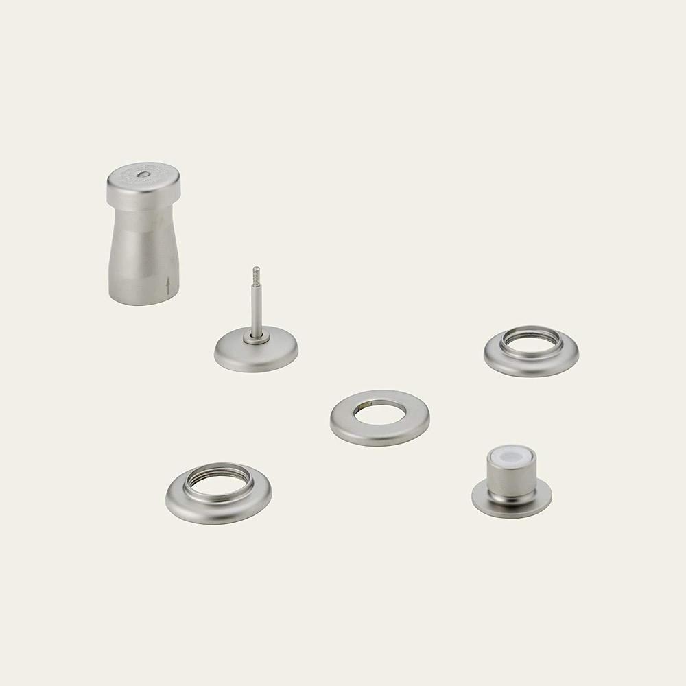 Delta 44 Nnlhp Classic Triple Handle Vertical Spray Bidet Faucet In Pearl Nickel Delta Bidet Faucets Bidet Faucet