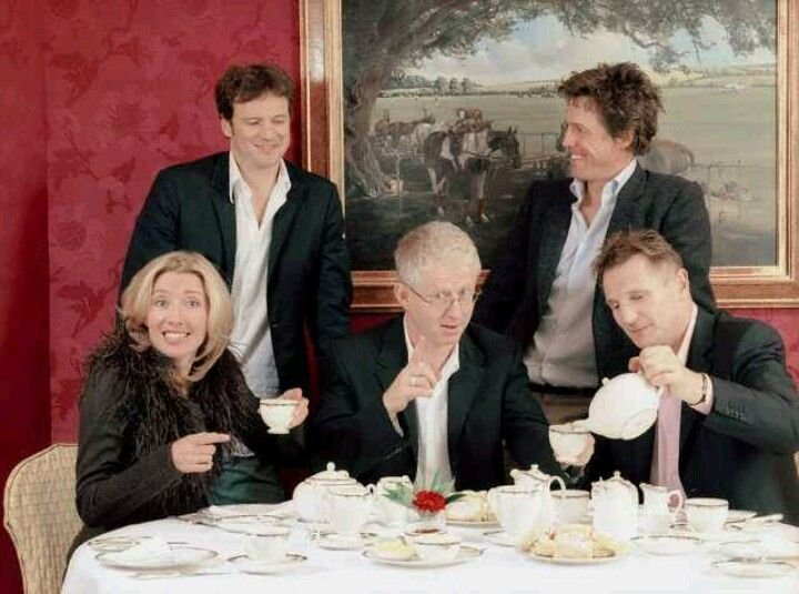 """Love Actually"" cast members drinking tea - now THIS would be a tea party I'd adore!"