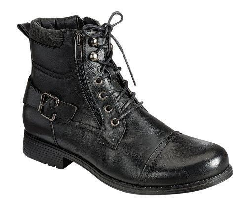 Bull-01 Mens Ankle Combat Army Low-Top Causal Boots