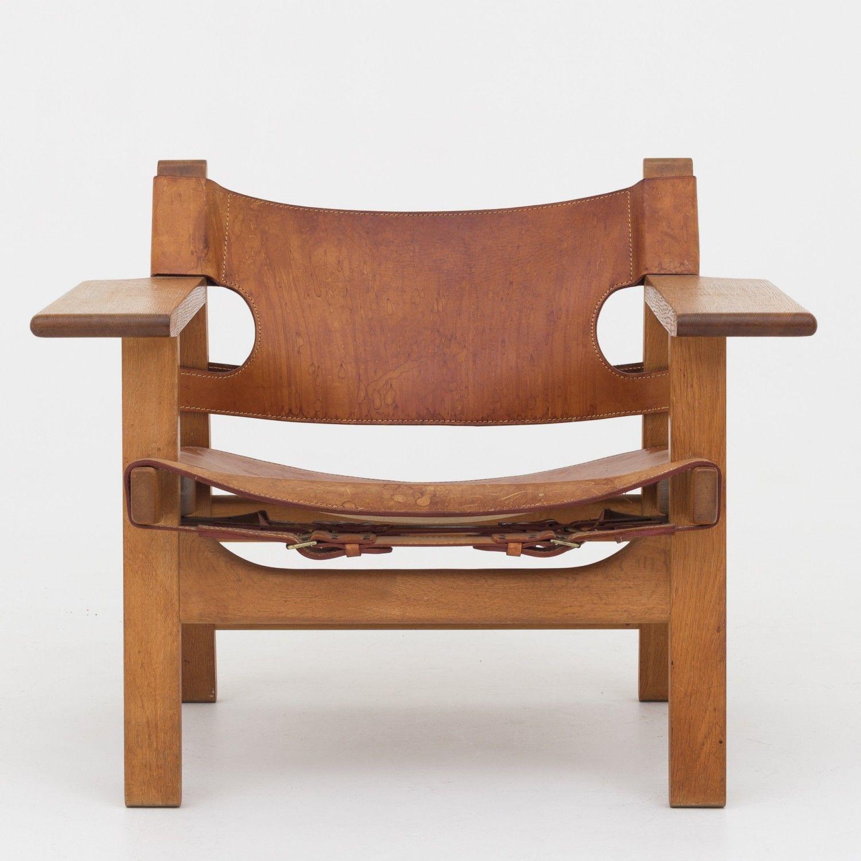 børge mogensen bm 2226 the spanish chair klassik dk modern