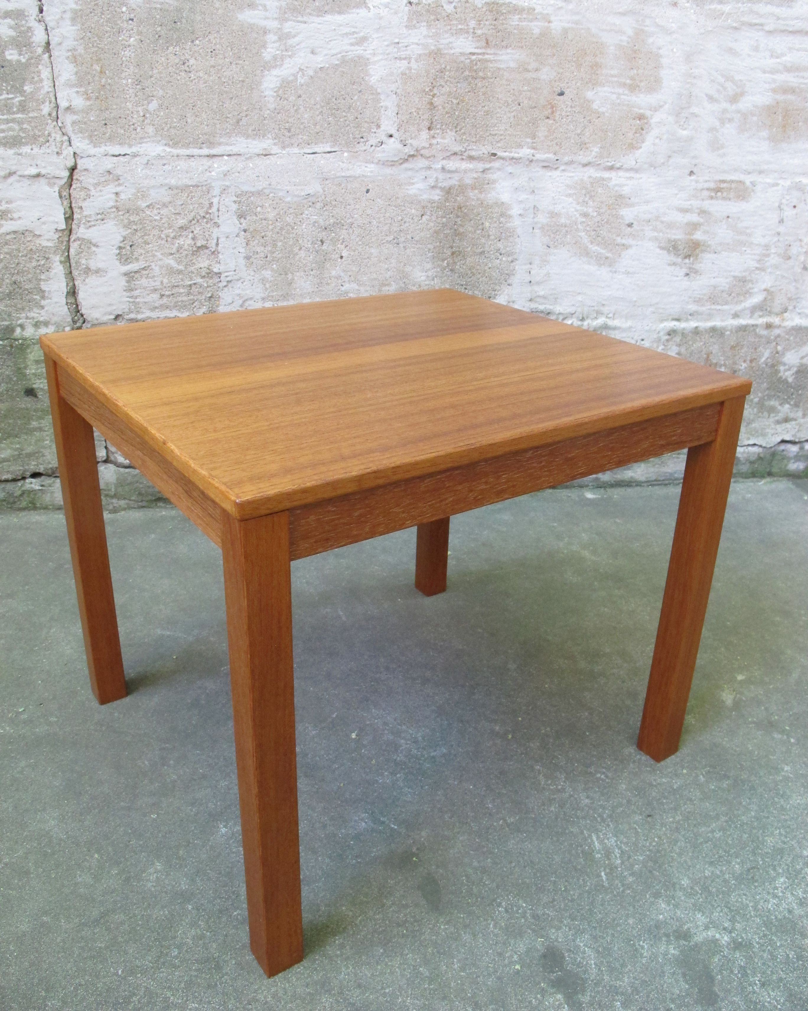 Small Teak Side Table.Danish Modern Small Teak Side Table Sold Items Adverts