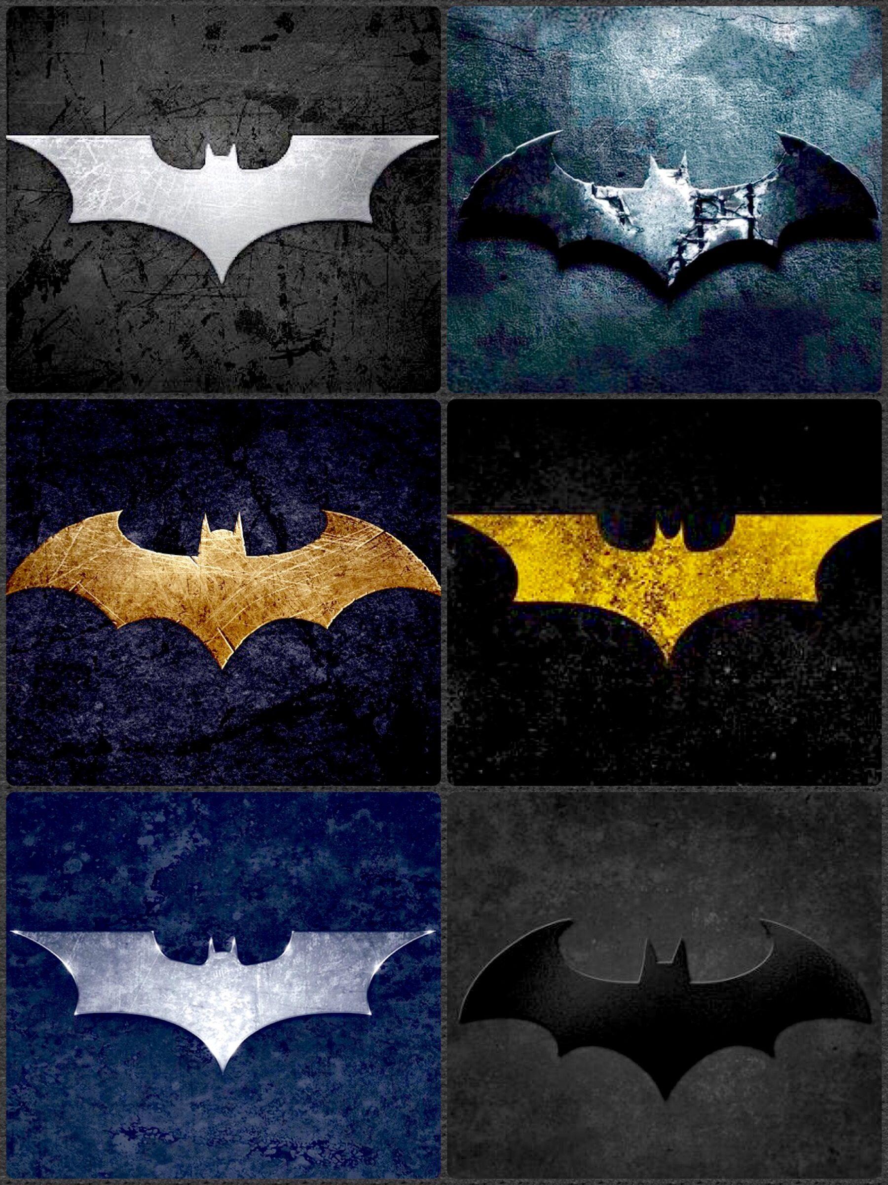 Batman Symbols Batman Pinterest Batman Dark Knight And