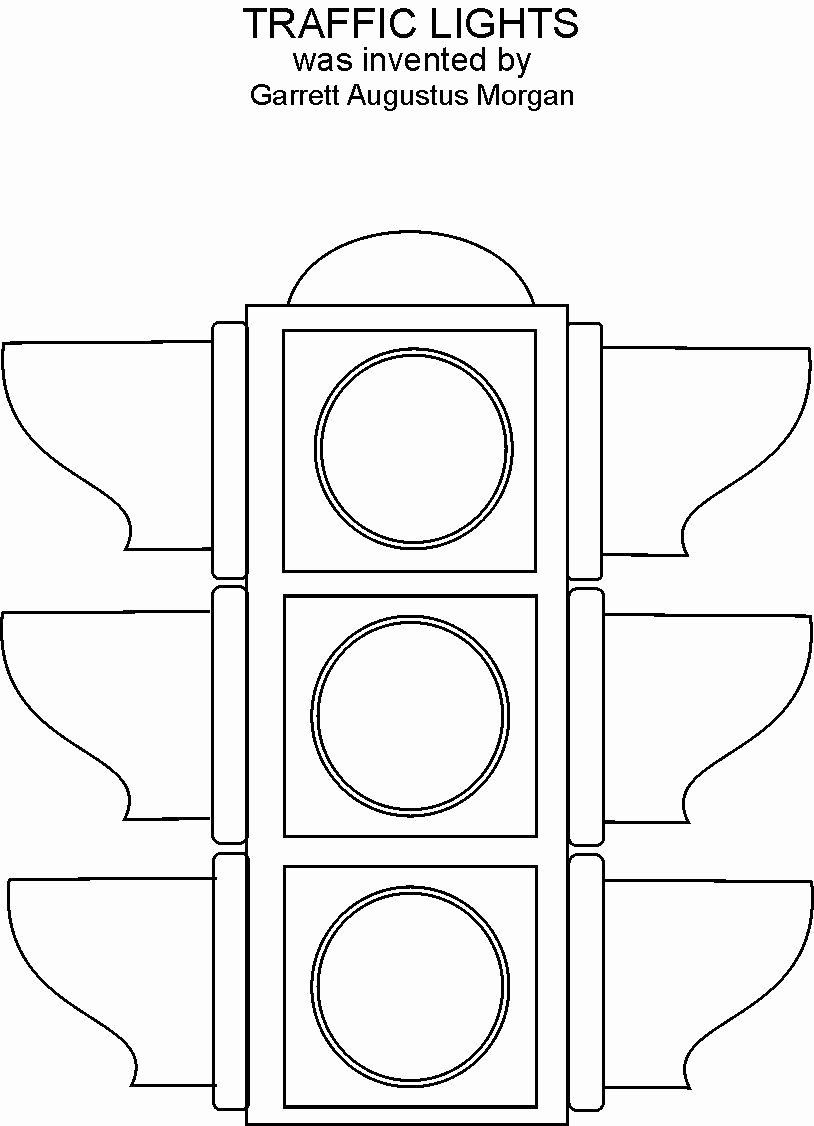 Stop Light Coloring Page Fresh Traffic Lights Coloring Printable Traffic Light Coloring Pages For Kids Coloring Pages