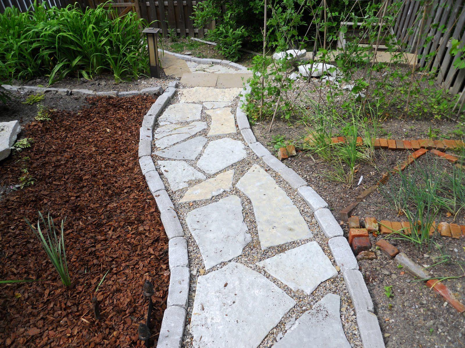 43+ Gravel and stone walkway ideas