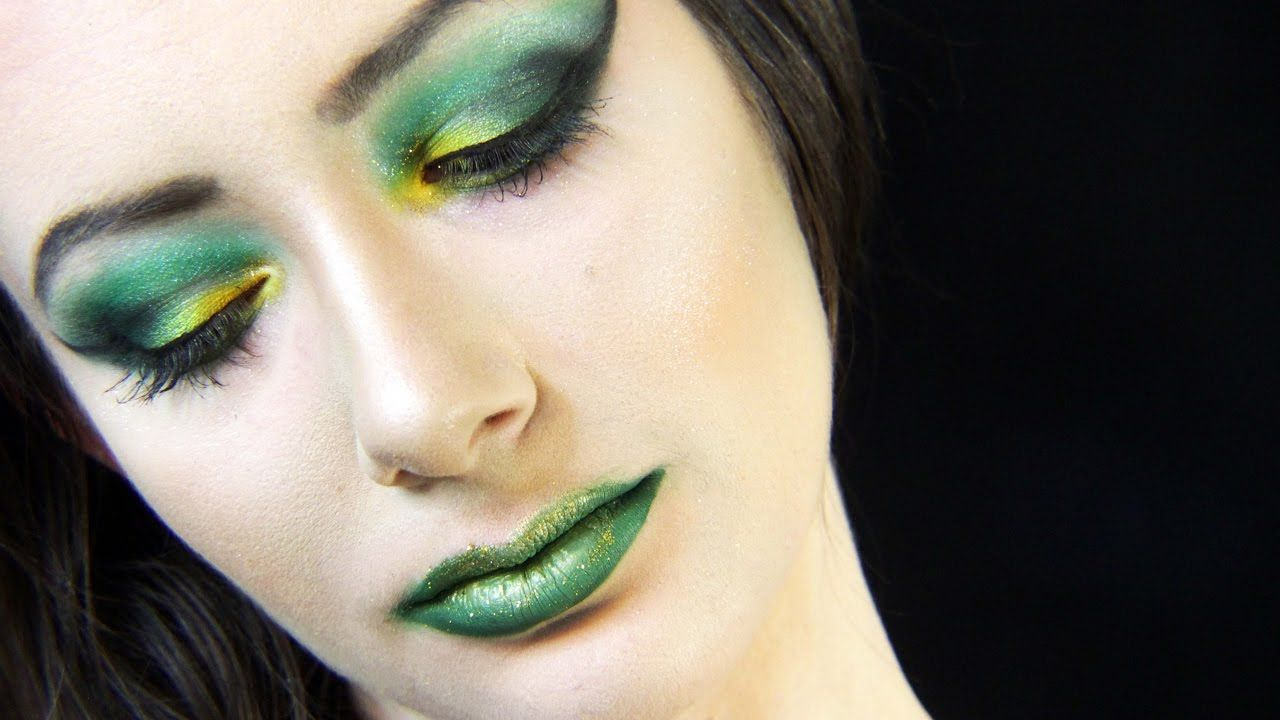 St patricks day green and gold makeup tutorial kosmic kristen st patricks day green and gold makeup tutorial kosmic kristen baditri Images