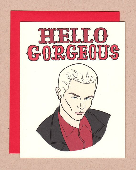 Hello Gorgeous Card Paper Product Lust Pinterest Buffy Buffy