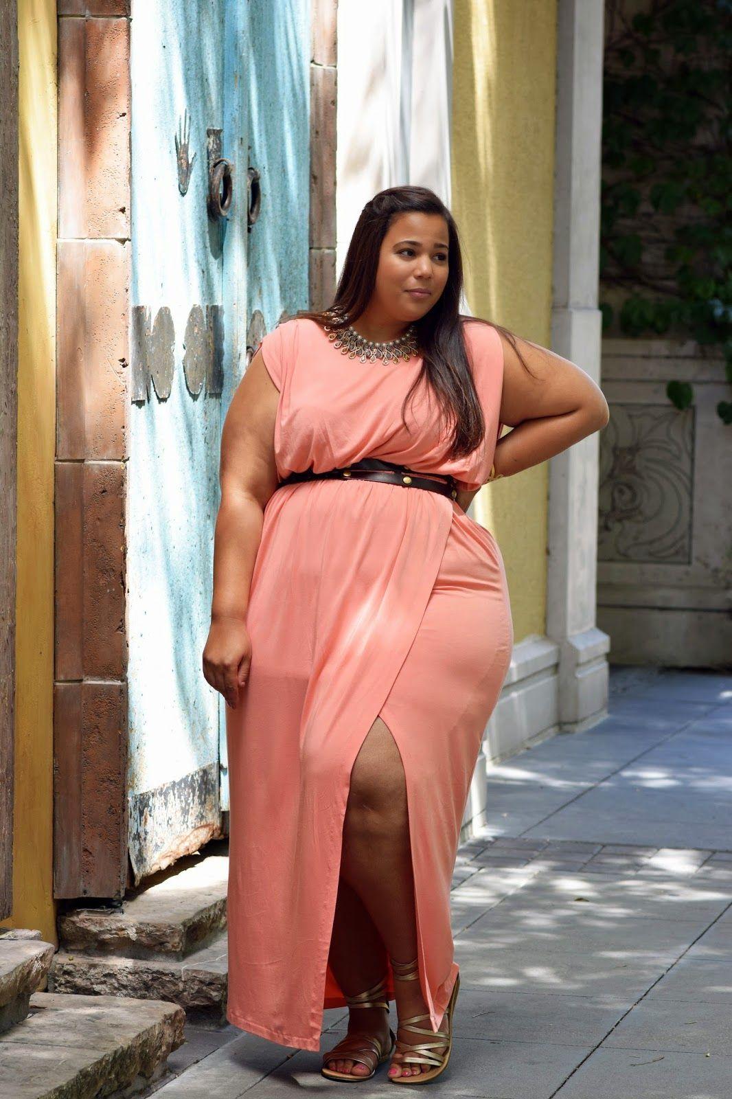 Plus Size Grecian Maxi Dress | Daniell brooks slide show ...