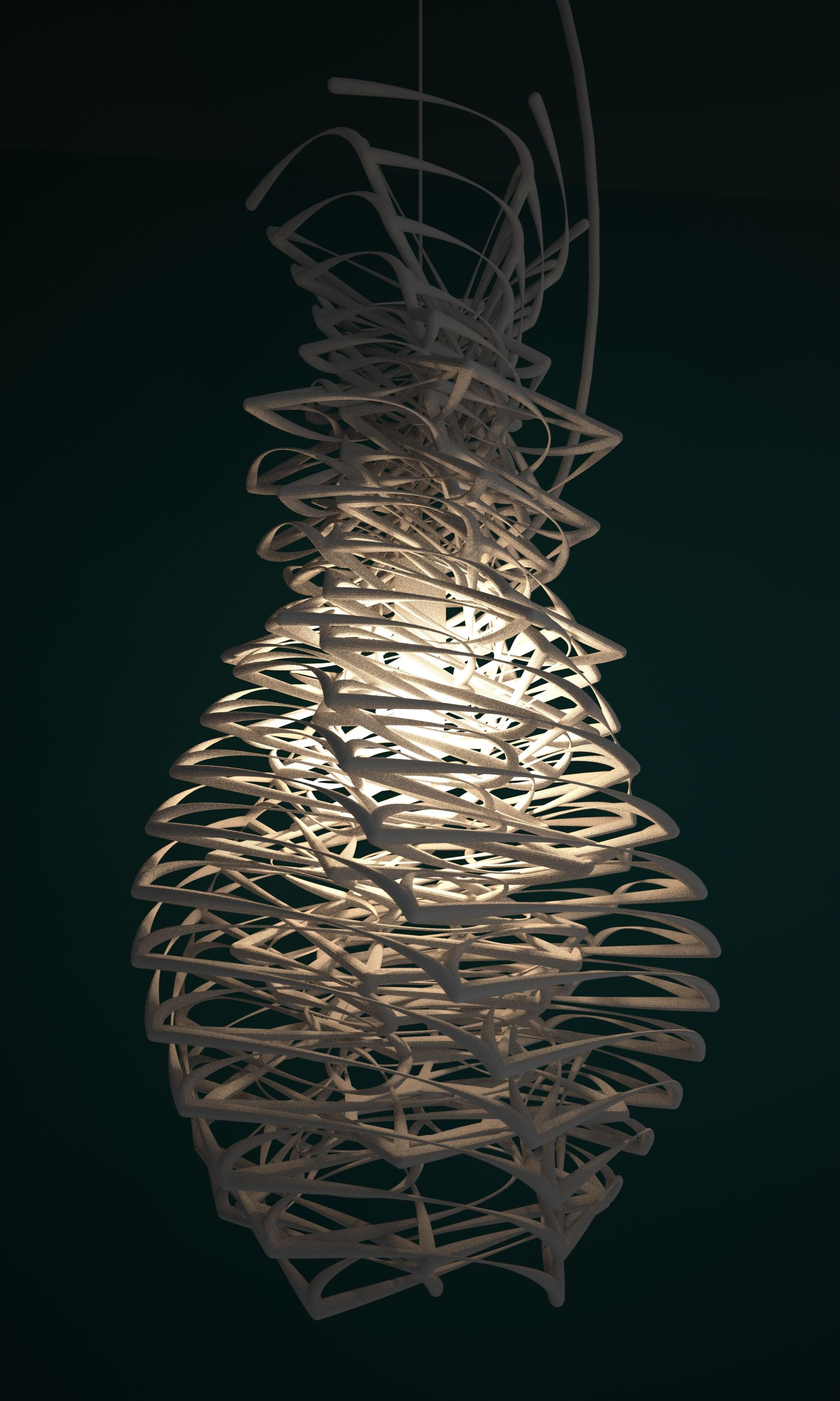 Lamp Shade 3d Print By Studioluminaire Futuristic Lighting Futuristic Interior Art Lamp