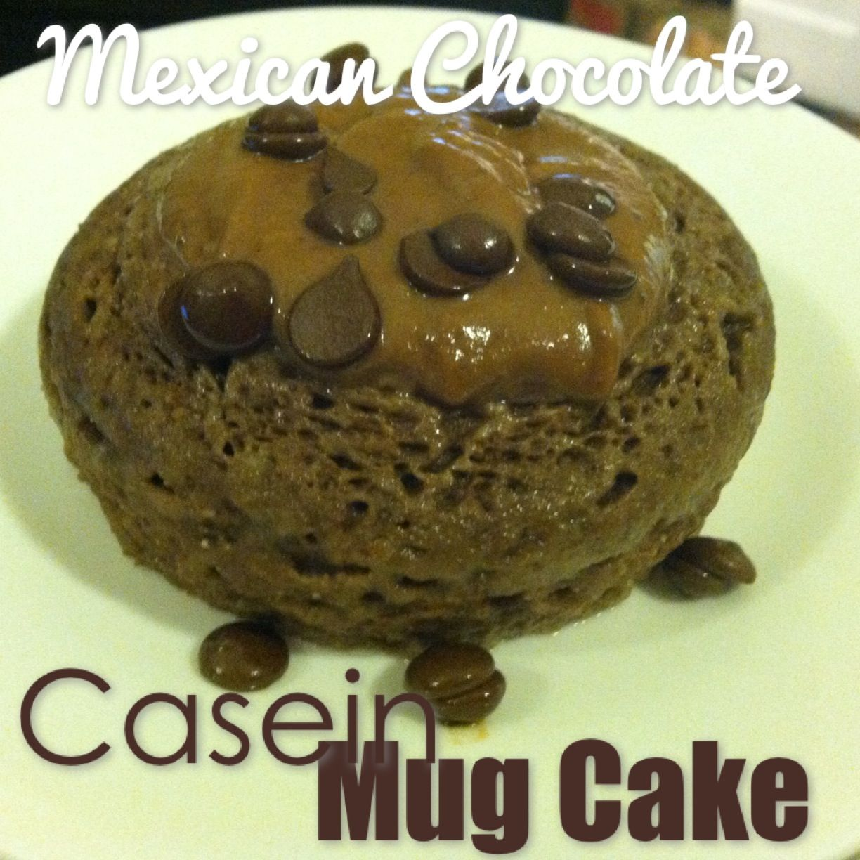 My new favorite casein mug cake! Thanks to Brittany Eats Clean. Ingredients: 1 Scoop Casein Protein Powder (I used Dymatize Elite Cinnamon Bun flavor)** 1 Tblsp Coconut Flour 1 Tblsp Unsweetened Co...