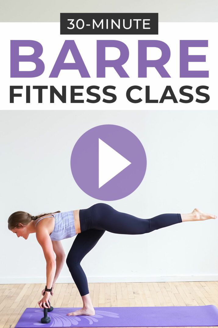 Photo of Barre Workout Video