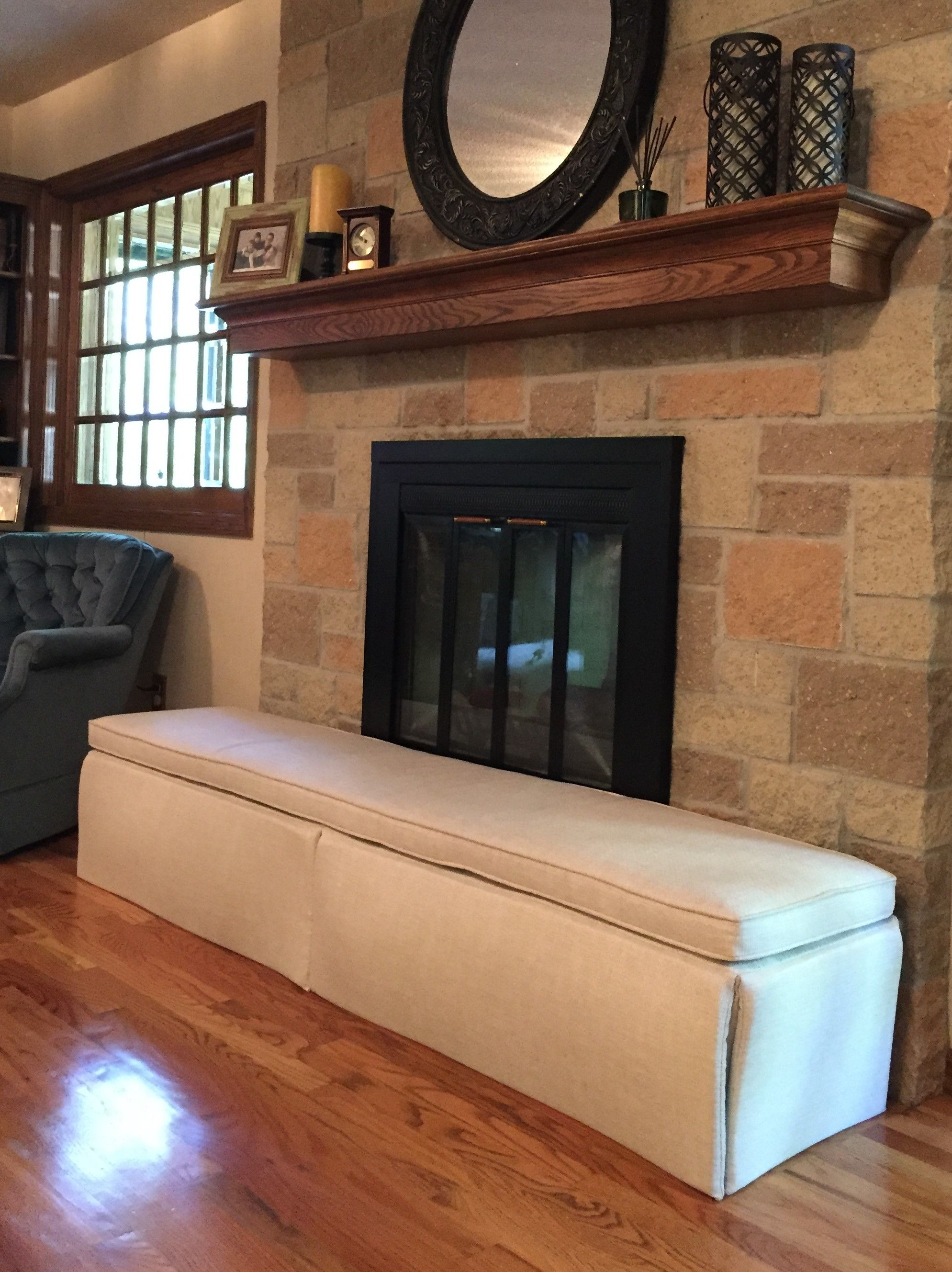 Custom Designed For Childproofing The Fireplace Hearth