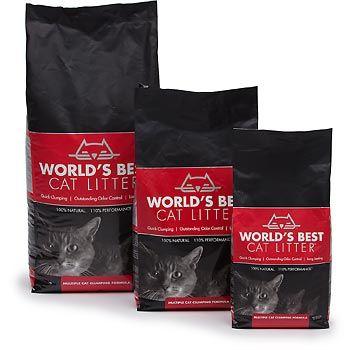 World S Best Cat Litter Multiple Cat Clumping Formula 7 Lbs Best Cat Litter Cat Litter Cool Cats