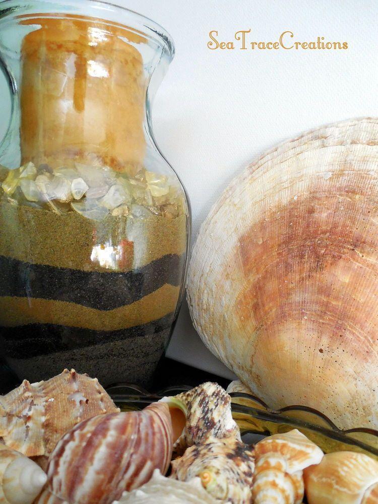 Diy Beach Sand Vases To Create Pinterest Craft Quick Crafts