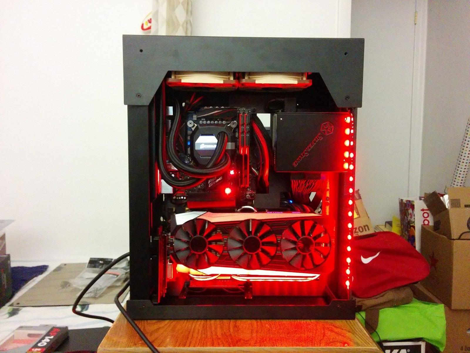 dannyx3123's Completed Build - Core i5-6600K 3.5GHz Quad-Core, GeForce GTX 980 Ti 6GB STRIX, PC-05SX HTPC - PCPartPicker